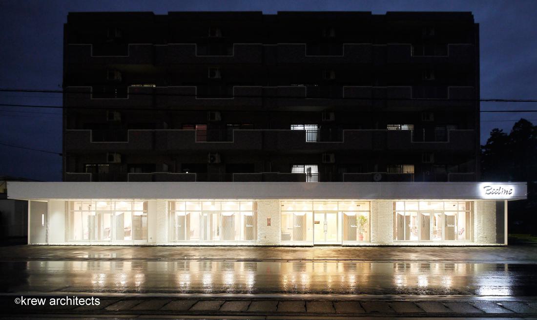 facade-夜正面
